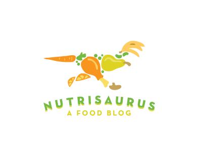 Nutrisaurus.com Logo by Gregory Grigoriou