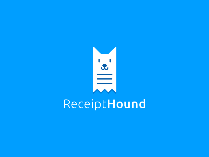 Receipt Hound Logo by Aditya