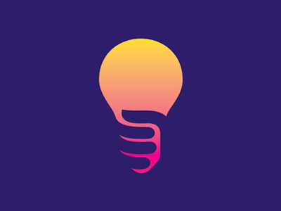Light bulb logo by Jan Zabransky