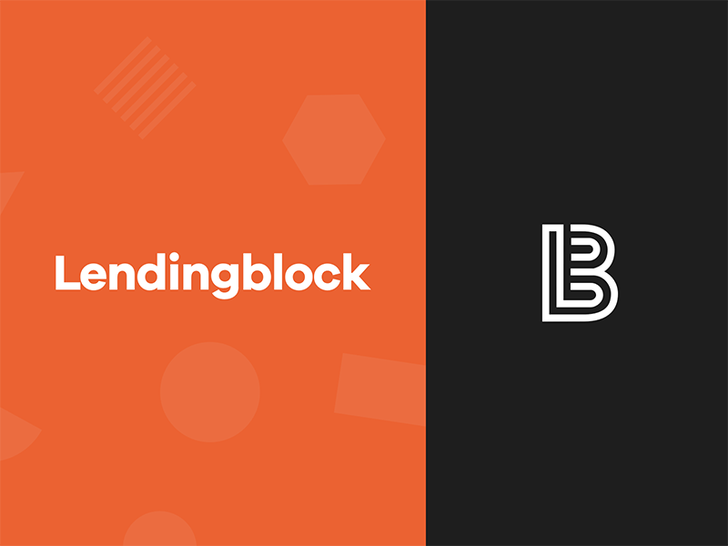Lendingblock Branding by Paul David Price