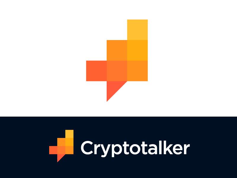 Logo concept for cryptocurrency platform by Vadim Carazan