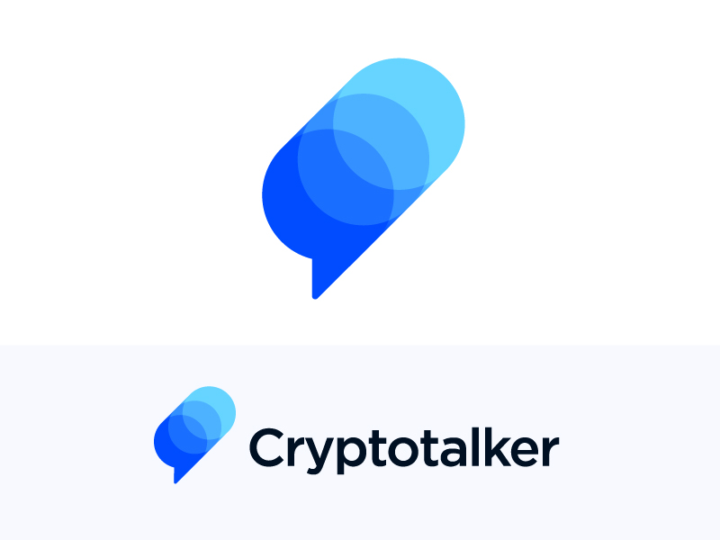 Logo concept for cryptocurrency platform by Vadim Carazan