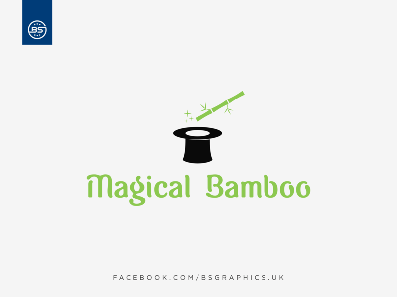 Magical Bamboo Logo by BS Graphics