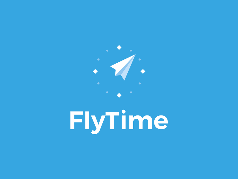 FlyTime Logo Project by LeoLogos.com