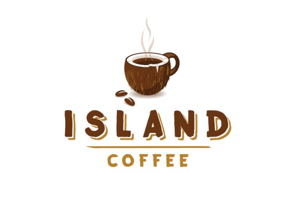 Island Coffee Coconut Mug by Louie Preysz
