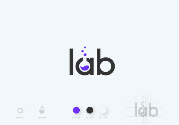 Lab Logo by Kasparas Sipavičius
