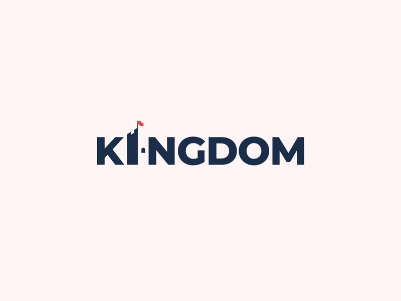 Kingdom Wordmark Logo by Sumesh A K
