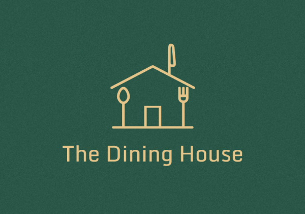 Dining House logo by Mujtaba Jaffari