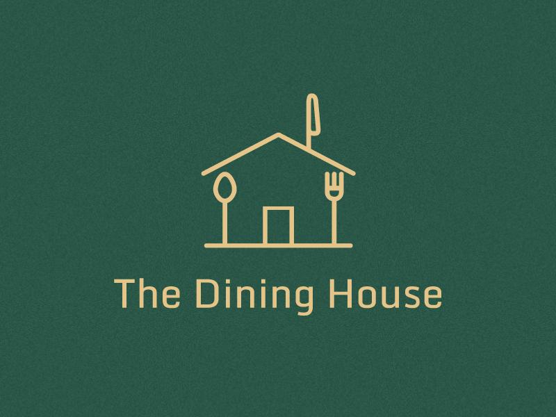 Dining House logo by Mujtaba Jaffari