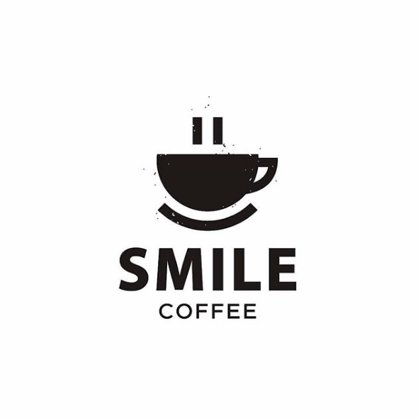 Smile Coffee Logo Design