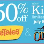 VeggieTales & Adventures in Odyssey sale: 50% off select Kids items