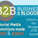 I Just signed-up for Business 2 Blogger