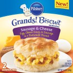 Review & Giveaway: @Pillsbury Frozen Grands! Biscuit Sandwiches and Pillsbury Egg Scrambles – CLOSED