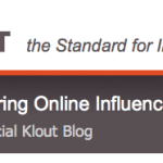 Klout Changes