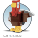 FREE Activity for kids (6-14 y/o): Make a free Turkey at Lego Stores on 11/1