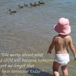 Wordless Wednesday: A child (W/ LINKY) #WW
