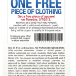 FREE Sears OUTLET Apparel TODAY (2/7/12) ONLY