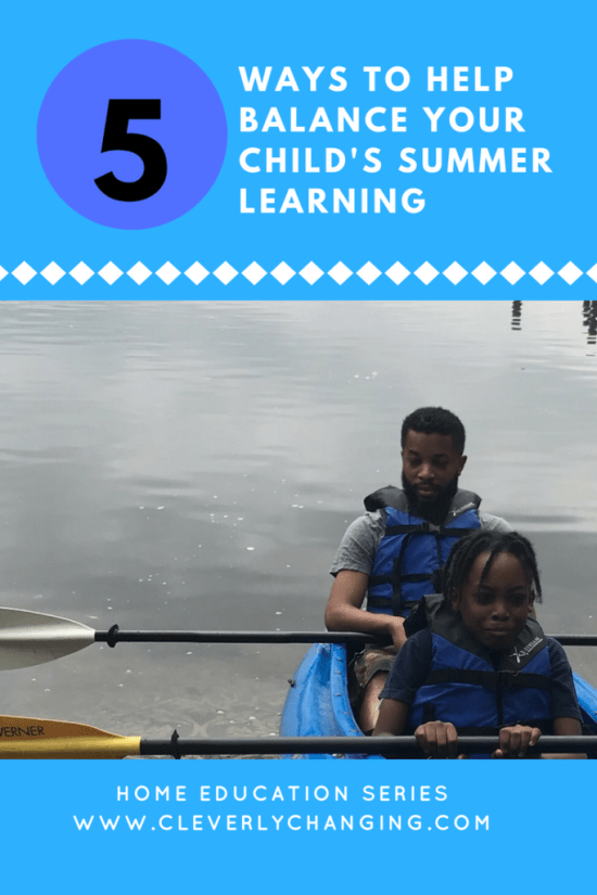 5 Ways to Balance Elementary Students Summer Learning