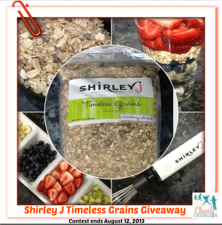 Timeless Grains Shirley J Giveaway