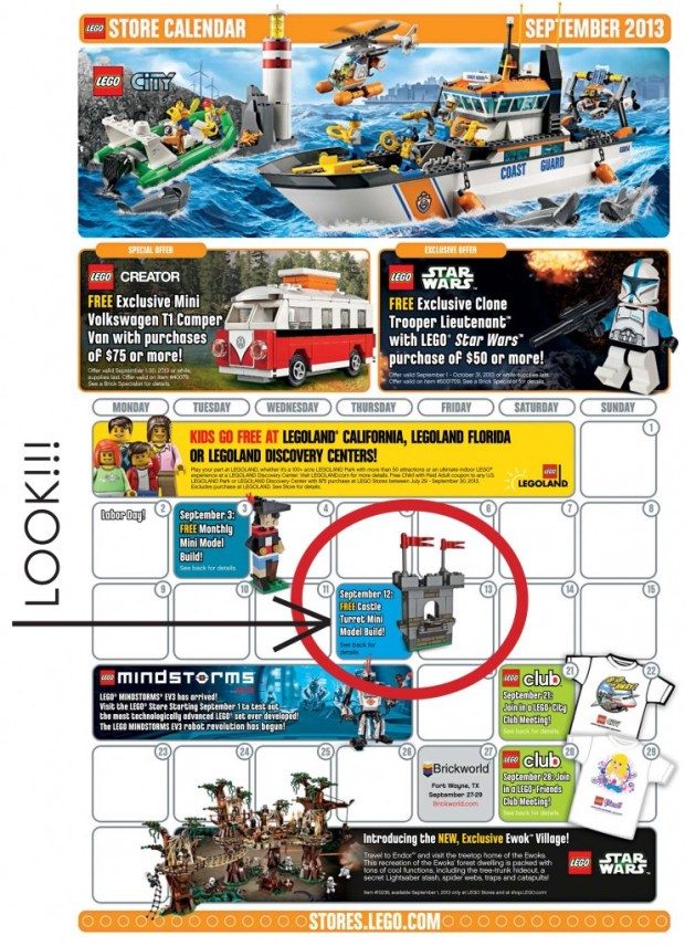 September Lego Build
