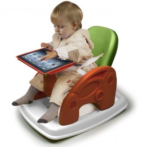 Digital toys - rocking-chair-ipad