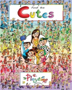 Find the Cutes Cover Kickstarter Campaign Mar 1- Mar 31