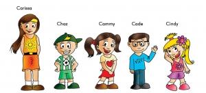 Find the Cutes family. Kickstarter Campaign Mar 1- Mar 31