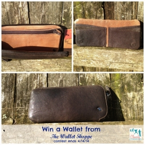 Win a wallet from The Wallet Shoppe contest ends 4/14