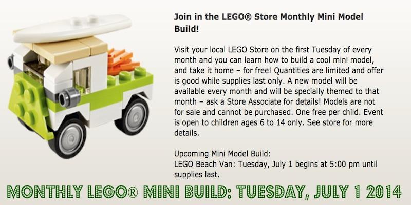 Monthly Lego Mini Build July 2014