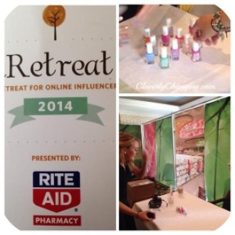 RiteAid sponsored a wellness lounge at iRetreat2014