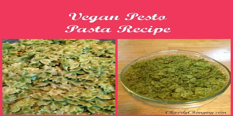 6 minute Vegan Pesto Sauce Recipe