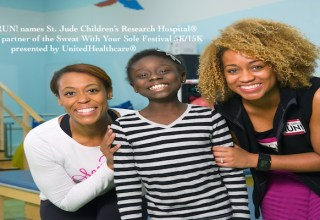 Black Girls RUN! names St. Jude Children's Research Hospital® official charity partner of the Sweat With Your Sole Festival 5K/15K presented by UnitedHealthcare®