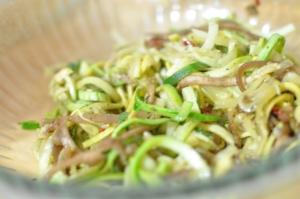 Sauteed Veggetti Noodles