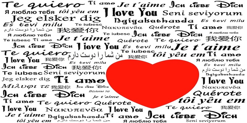 love in many languages