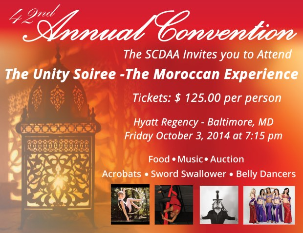 Oct 1-4, 2014 in Baltimore, MD 42nd Annual SCDAA Convention #30forSickleCell