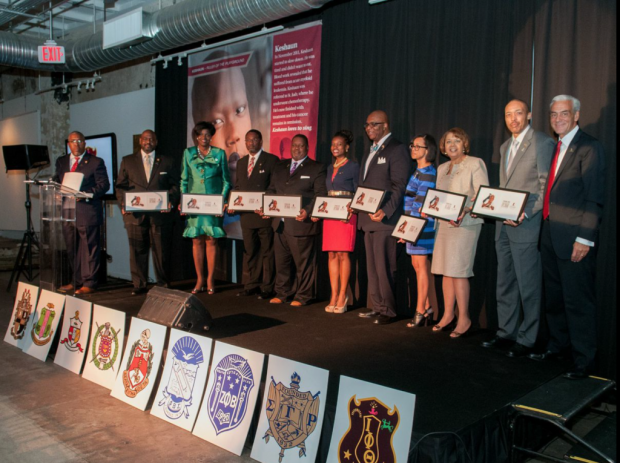 St. Jude/NPHC Call to Service 2014 Honorees #30forsicklecell #sicklecellawareness