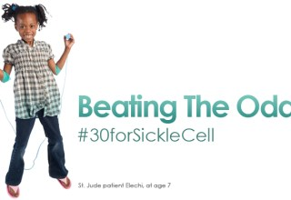 Beating The Odds Against Sickle Cell - St. Jude patient Elechi, at age 7