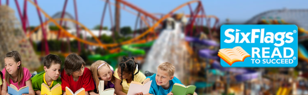 Six Flags Reading Program #educhat #learning #homeschool