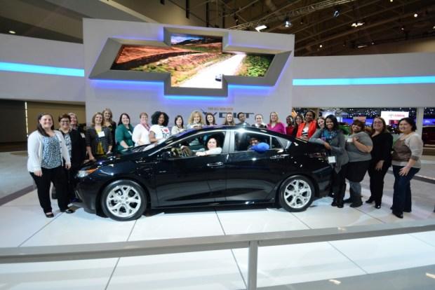 2016 Chevy Volt Bloggers at 2015 Washington Auto Show