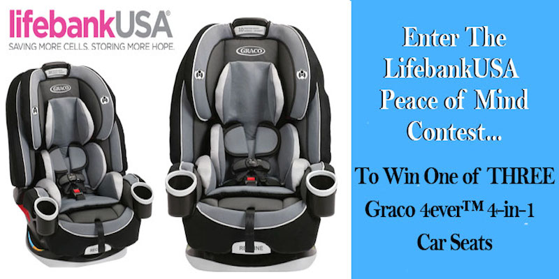 Win Graco Car Seat (3 winners) #Contest ends 5/29/2015 #giveaway