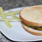 Yummy Homemade Vegan Burger