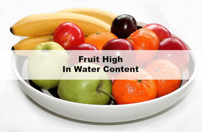 Water rich fruits