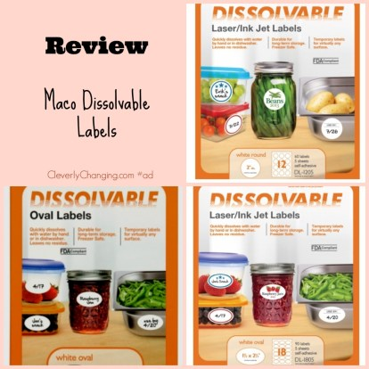 Maco Dissolvable Label #Review #green