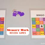 Homeschooling is Fun: 10 Memory Work Review Games