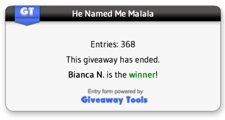 Giveaway Tools Winner