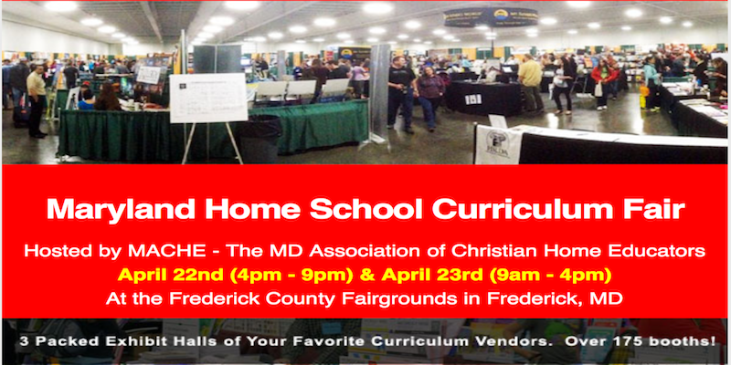 #MACHE 2016 #Homeschool Curriculum Fair