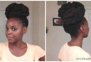 Braided loc Bun and You Be Natural Review