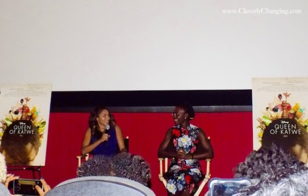 Lupita Nyong'o at the NABJNAHJ Queen Sugar Screening