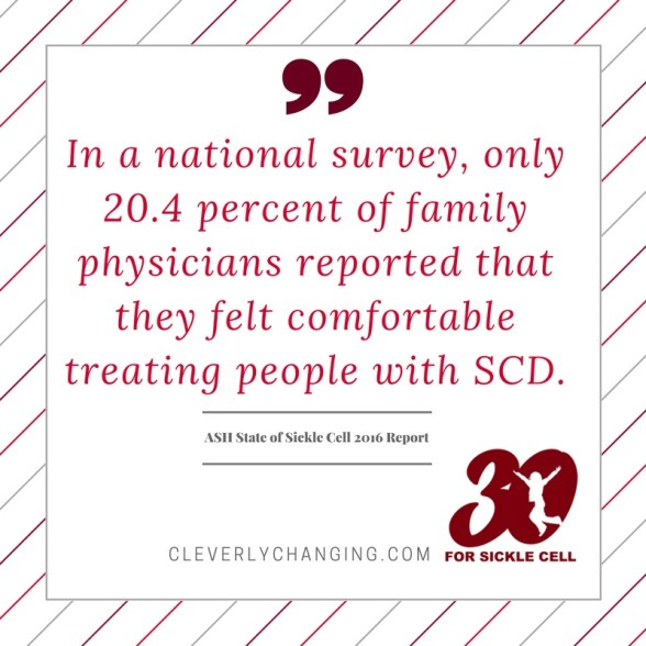 Sickle Cell and physicians #30forsicklecell