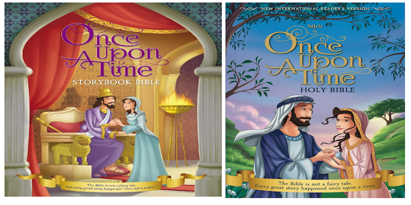 Once Upon A Time Bible and Storybook